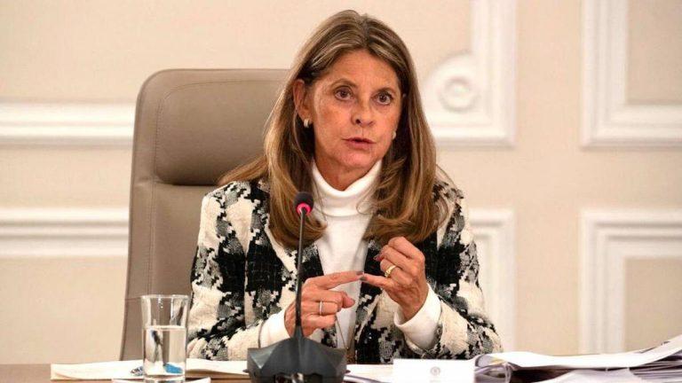 """""""Colombia se aparta de algunas consideraciones de la CIDH"""", Marta Lucía Ramírez"""