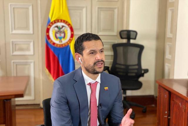 Iván Duque nombra a Daniel Palacios como nuevo ministro del Interior