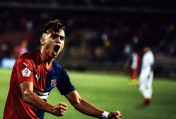 Atlético Nacional le da la bienvenida a Jonathan Marulanda