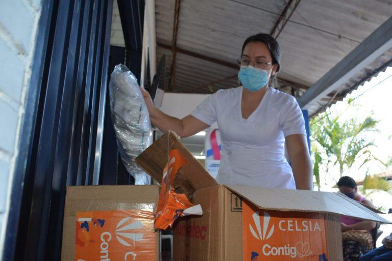 Celsia finalizó entrega de más de 143.000 insumos de bioprotección en hospitales de Tolima y Valle