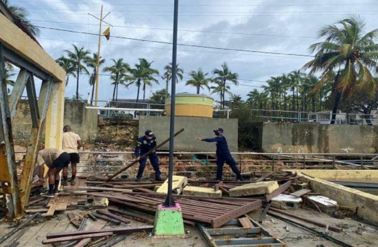 Así avanza la limpieza y remoción de escombros en San Andrés y Providencia tras paso del Iota