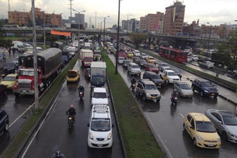 Bogotá es la tercera ciudad en el mundo con más trancones