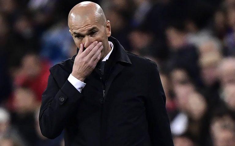 ¿Será despedido Zinedine Zidane del Real Madrid?
