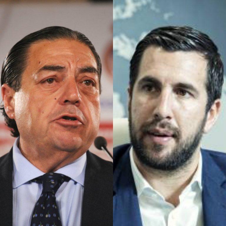 Los dos personajes que quieren desbancar a Florentino Pérez