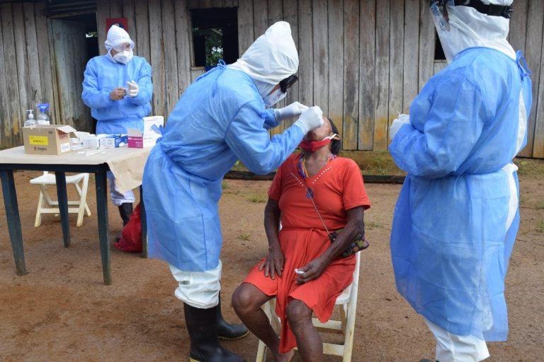 Reportaron dos nuevos casos de la cepa brasileña del covid en Colombia