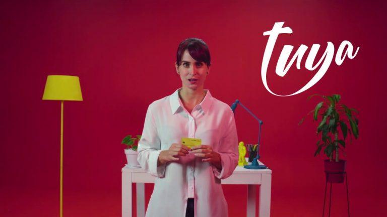 Empresa Tuya anuncia nueva tarjeta para comprar en tiendas digitales