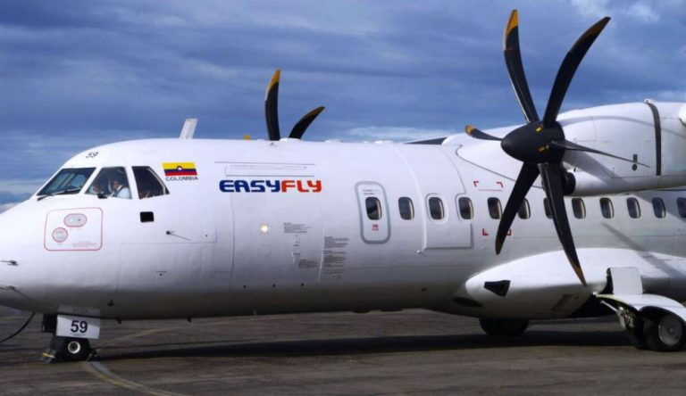 Easyfly tendrá dos nuevas rutas desde el Aeropuerto Alfonso Bonilla Aragón