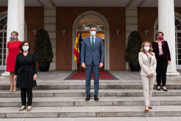Por primera vez, España tendrá cuatro vicepresidentas