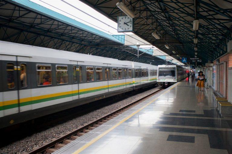 Obras de mitigación en la vía férrea del Metro de Medellín tomarán un mes