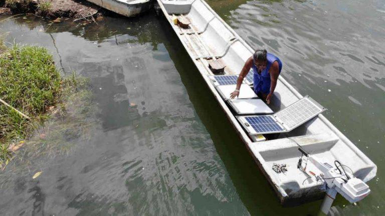 Nariño le apuesta a los botes de energía solar para pescar en el Pacífico
