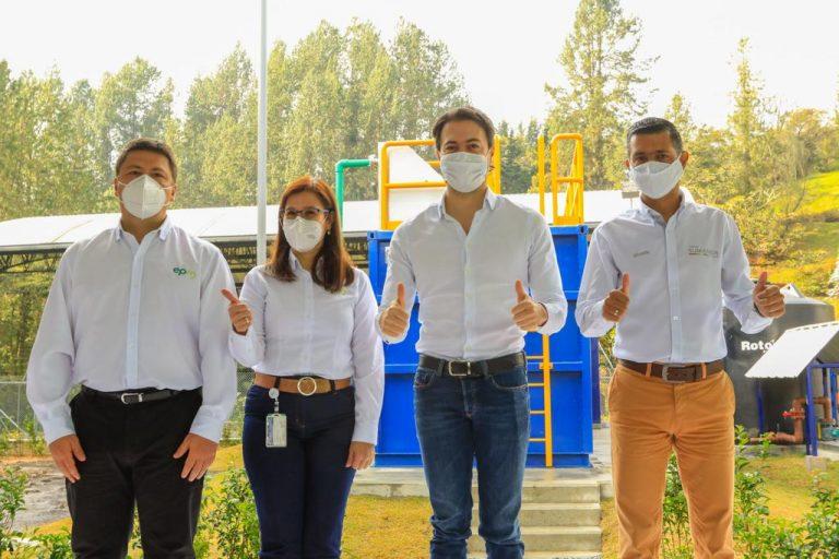 El Escobero, Alto Palmas, tiene nueva planta que trata aguas residuales