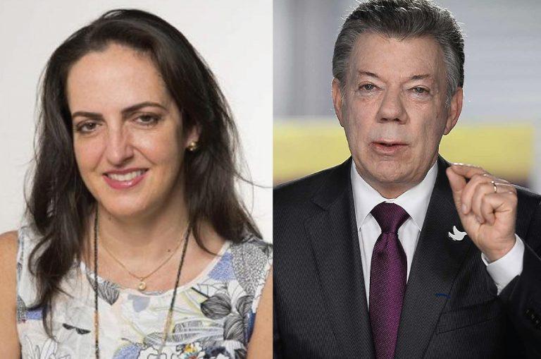 Senadora Cabal recoge firmas virtuales para que Santos pierda el Nobel de Paz
