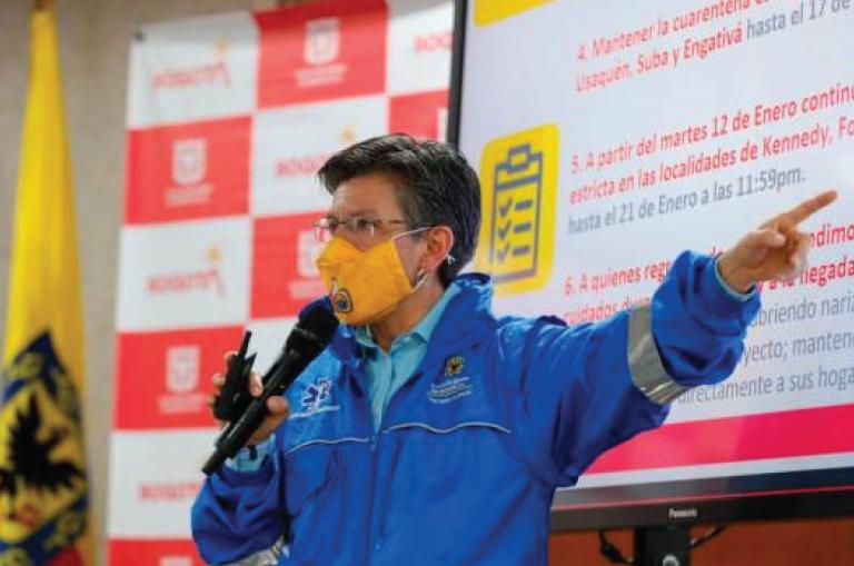 Claudia López anunció pilotos para el regreso de discotecas, conciertos y fútbol a Bogotá