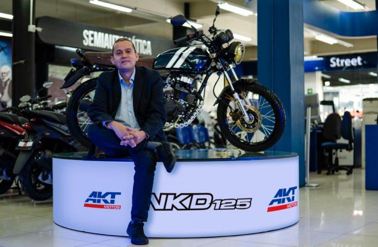 AKT Motos ha vendido más de 84.000 unidades en mercados internacionales