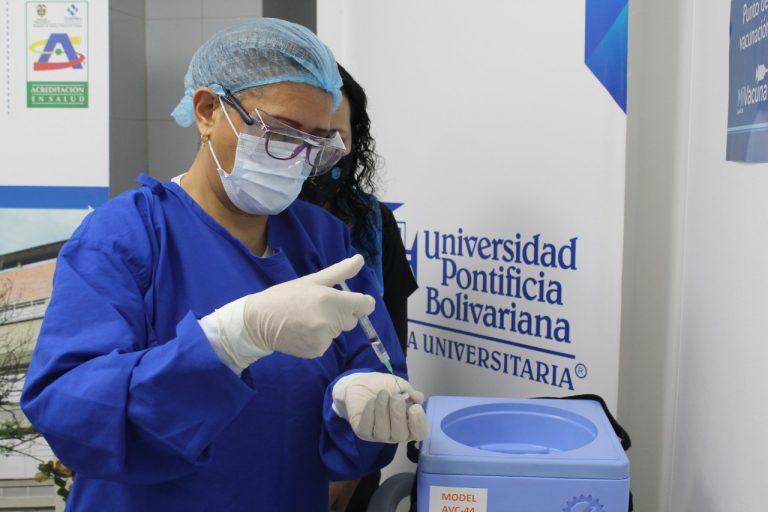Antioquia ha aplicado más de 1 millón de vacunas contra el COVID
