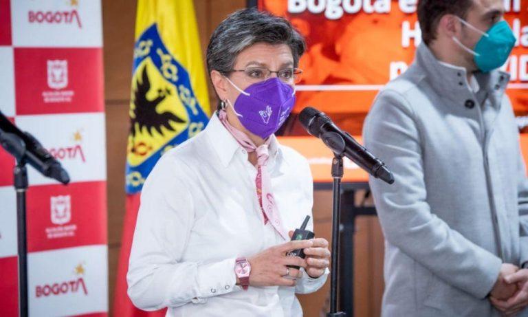 Le llueven críticas a Claudia López por caos en Bogotá