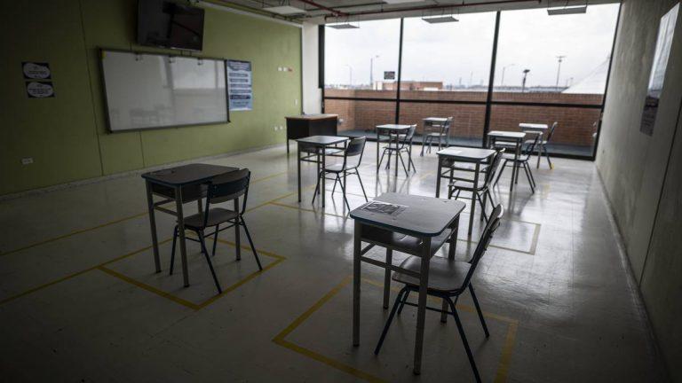 El 90 % de los colegios en Bogotá cuentan con protocolos de bioseguridad