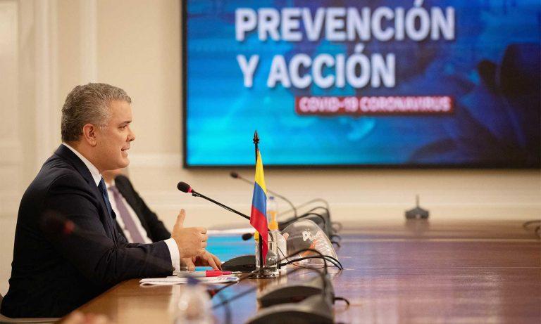 Presidente confirmó dos casos de la cepa británica de COVID en Colombia