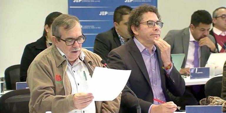 En la JEP, las Farc reconocen haber usado el secuestro como política guerra