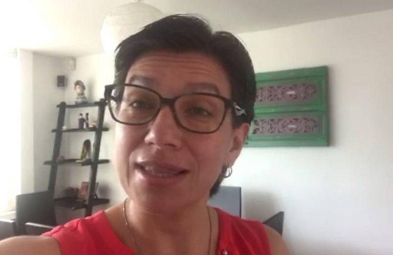 """""""Dediquemonos a buscar soluciones, no solo esloganes"""": Claudia López"""