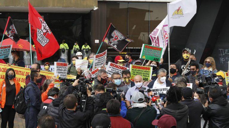¿Los integrandes del Comité Nacional del Paro representan a los protestantes?