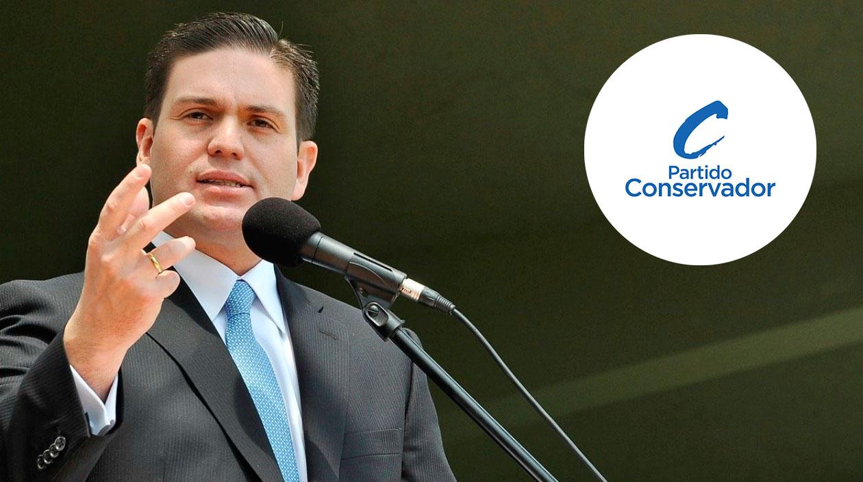 Conservadores consideran a Pinzón el candidato más viable a la Presidencia