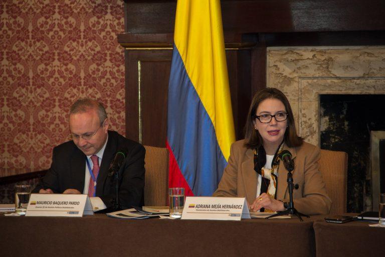 Tras la salida de Blum, Adriana Mejía estará a cargo de la Cancillería