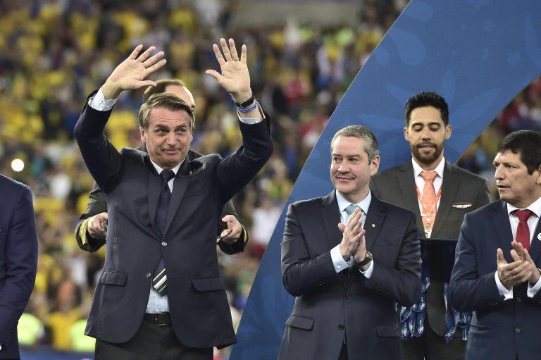"""""""Si depende de mi gobierno, habrá Copa América en Brasil"""": Jair Bolsonaro"""