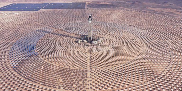 La primera planta de energía termosolar de América Latina fue inaugurada en Chile