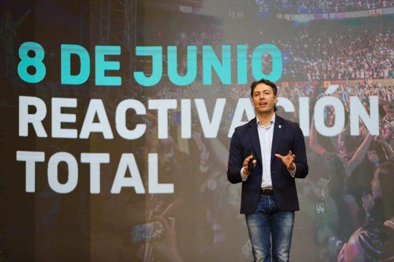 A partir del 8 de junio vuelven a Medellín los grandes eventos