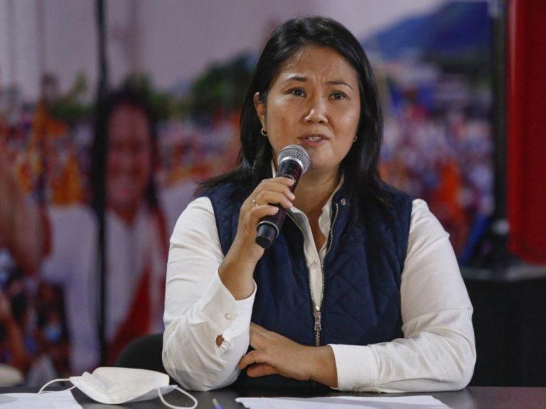 """Jurados electorales rechazaron reclamo de Keiko Fujimori sobre """"fraude"""""""