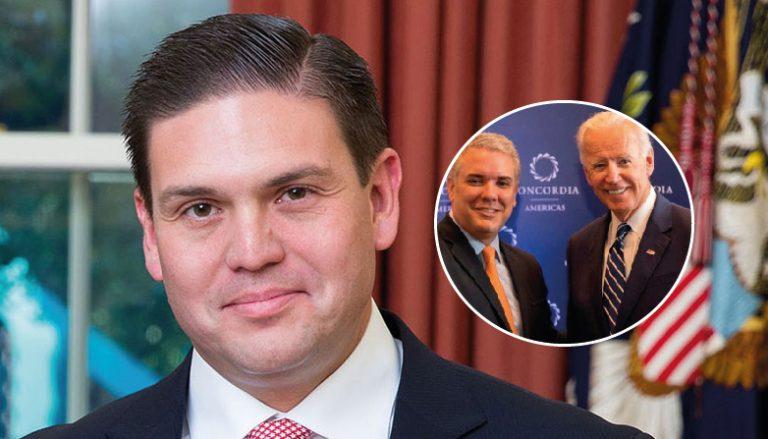 Pinzón confirma la primera reunión entre Joe Biden y el presidente Duque