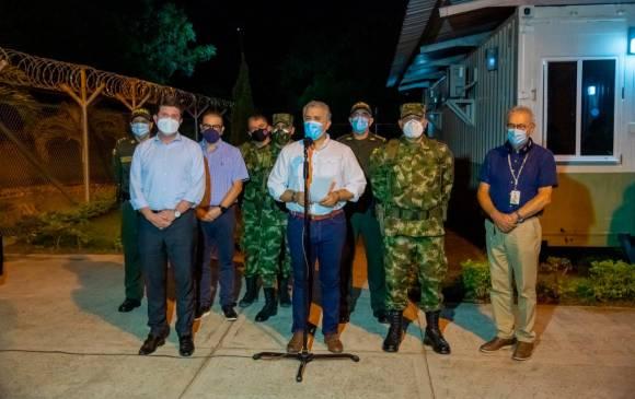 Duque ofrece 500 millones de recompensa por autores del atentado en Cúcuta