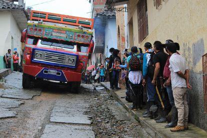 Desabastecimiento en Ituango en medio de la crisis