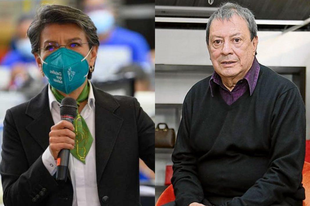El lamentable trino de Claudia López en respuesta a Mario Hernández
