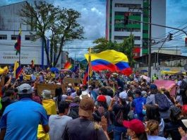 Protestas para este 20 de julio en Colombia
