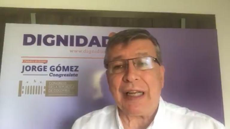 """""""Uno no puede entregarle el poder de la nación a un impredecible como Gustavo Petro"""", Jorge Gómez en 360"""
