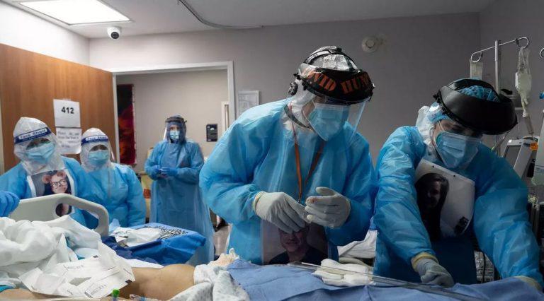 Estados Unidos ha triplicado casos de COVID-19 en dos semanas
