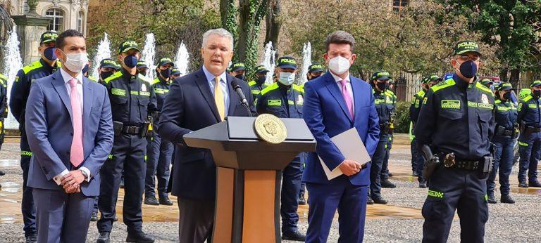 Presidente presentará al Congreso el nuevo Estatuto Disciplinario de la Policía