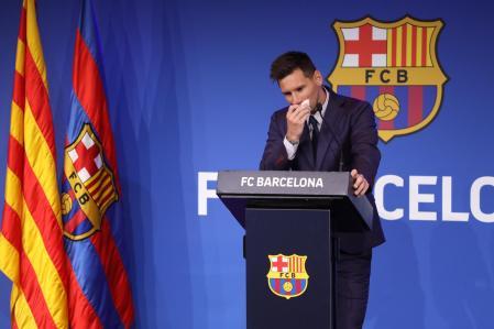 La salida de Messi del Barcelona pone en cuestión los altos salarios en el fútbol europeo