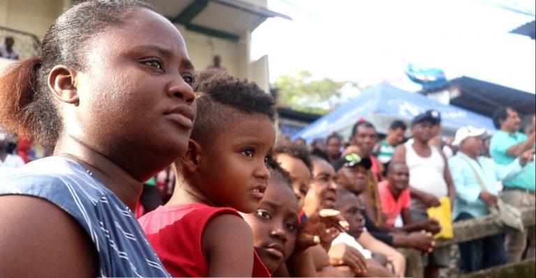1.150 familias desplazadas en el Chocó