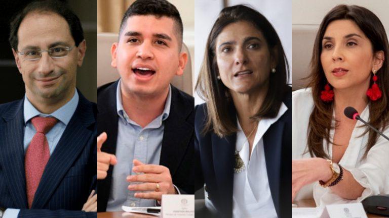 Los 4 ministros que sobreviven del gabinete inicial del presidente Duque