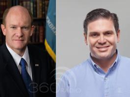 """""""Voy a recomendar visita de Biden a Colombia"""", senador Chris Coons"""