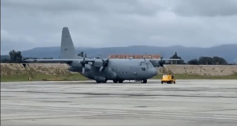 Fuerza Aérea colombiana tiene dos nuevos aviones Hércules
