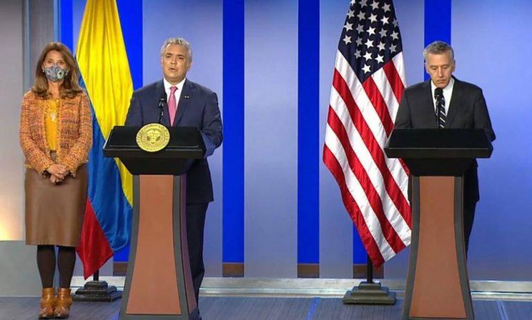 Presidente aclara que tránsito de refugiados afganos en Colombia será temporal