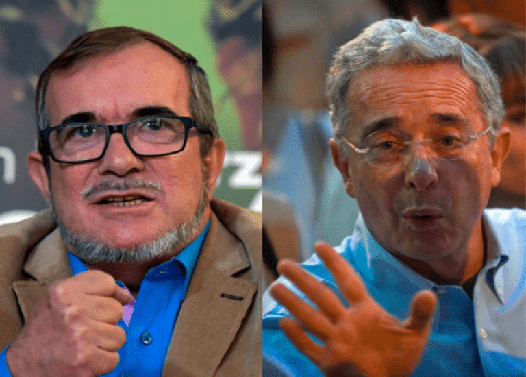 """""""Colombia no puede solo olvidar"""": Timochenko al expresidente Uribe"""
