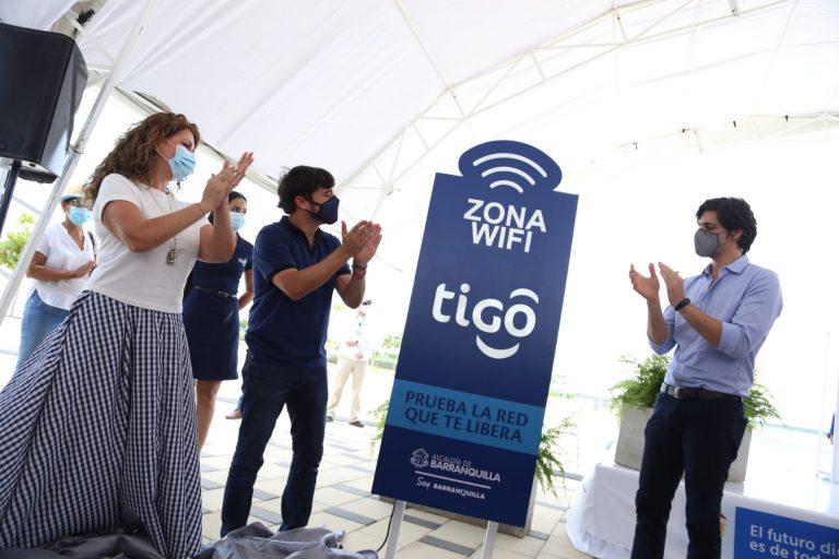 El Gran Malecón de Barranquilla ahora cuenta con internet gratuito de Tigo