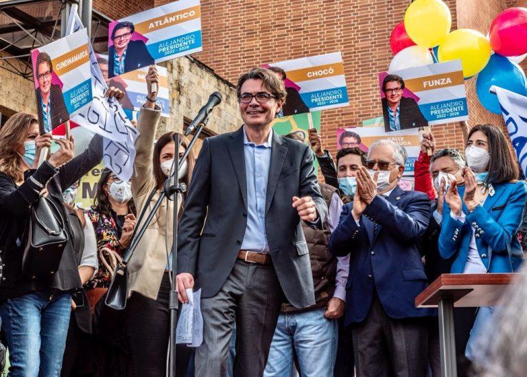 Los 4 ejes principales de la campaña presidencial de  Alejandro Gaviria