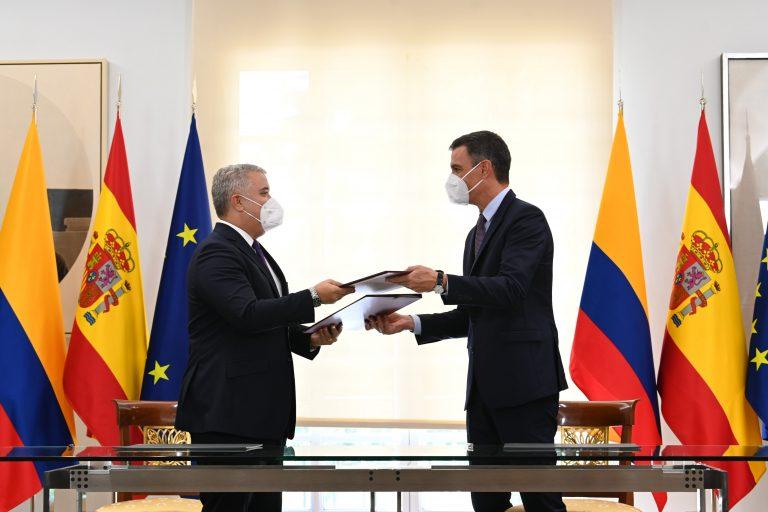 España y Colombia suscriben cuatro acuerdos de cooperación bilateral