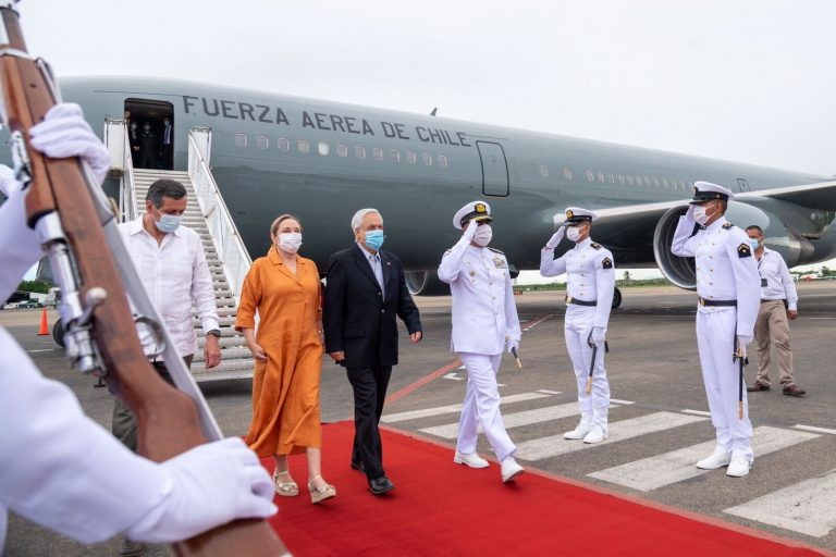 El presidente de Chile se encuentra en Colombia en una visita oficial